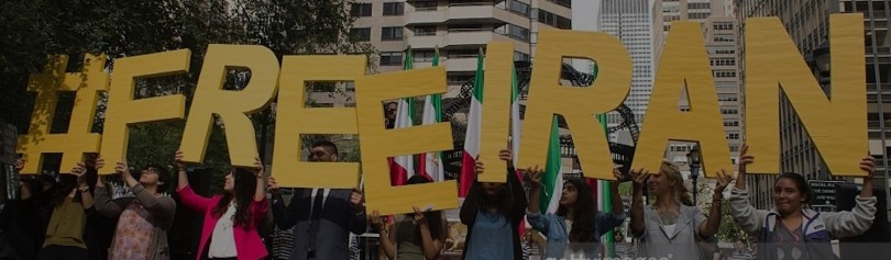 Free Iran Rally for Human Rights Activism
