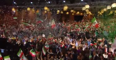 Iranians Raily for Freedom