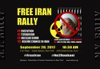 Free Iran Rally - 20 Sept. 2017