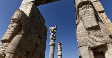 Ancient Persepolis Gate